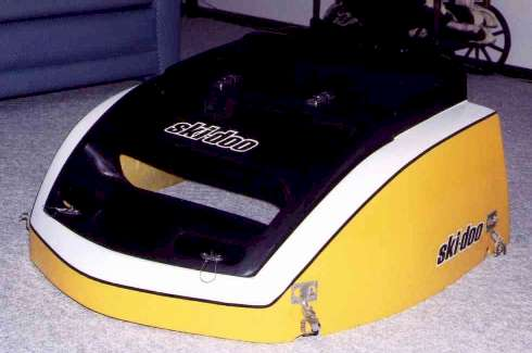 ski-doo snowmobile painting codes