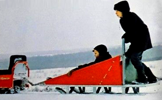 Michigan Snowmobile Sleigh History | Offical Page